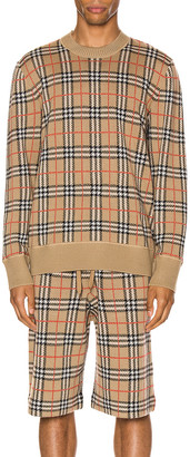 Burberry Knit Crew in Archive Beige | FWRD