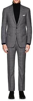 Cifonelli Men's Montecarlo Plaid Wool Two-Button Suit