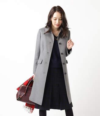 NEWYORKER women's 【秋冬新作】MY DEAREST COAT/ウールシルクビーバー ステンカラーコート