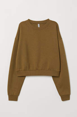 H&M Short Sweatshirt - Green