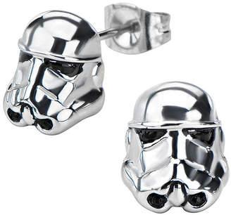 Star Wars FINE JEWELRY Stormtrooper Stainless Steel Earrings