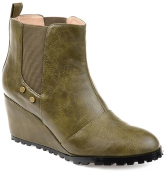 Journee Collection Jessie Women's Wedge Ankle Boots