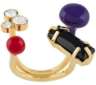 Marni assorted stone ring