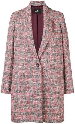 Paul Smith oversized multi-yarn coat