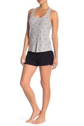 PJ Salvage Lace Trim Pajama Shorts