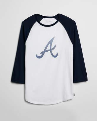 Express Atlanta Braves Baseball Tee