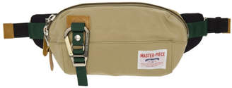 Master-piece Co Beige Link Pouch