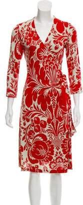 Diane von Furstenberg Silk Julianetta Dress