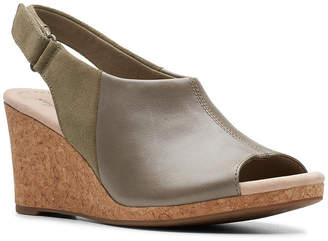 fa849d90b25 Clarks Collection Women s Lafely Jess Wedge Sandals