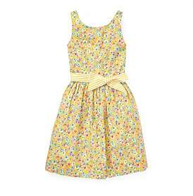 Polo Ralph Lauren Floral Fit-And-Flare Dress (8-14 Years)