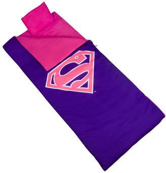 Wildkin Superman Pink Shield Sleeping Bag