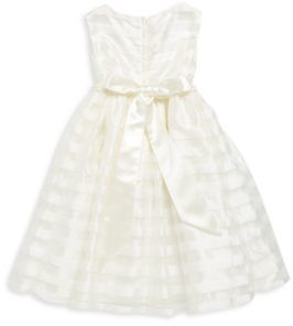 Little Girl's Beaded Striped Dress $62 thestylecure.com