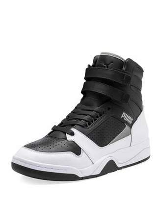 Puma Men's Palace Guard High-Top Moto Sneakers