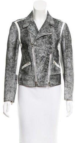 3.1 Phillip Lim3.1 Phillip Lim Distressed Leather Jacket