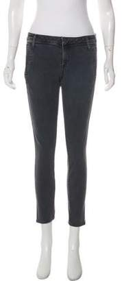 Helmut Lang Mid-Rise Skinny Jeans