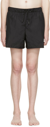 Acne Studios Black Perry Swimsuit $140 thestylecure.com