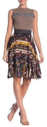 Petit Pois Patterned Woven Skirt
