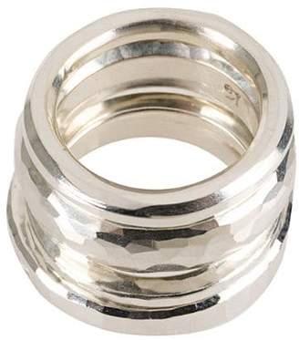 Werkstatt:Munchen 4 hammered ring set