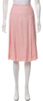 Celine Vintage Pleated Skirt