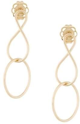 Natasha Schweitzer mini Infinity Twist earrings