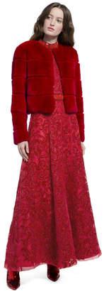 Alice + Olivia Theon Cropped Coat