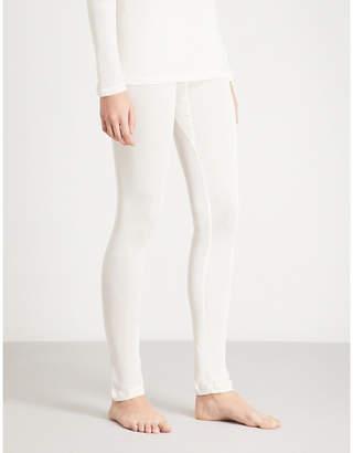 Hanro Pure Silk skinny silk leggings