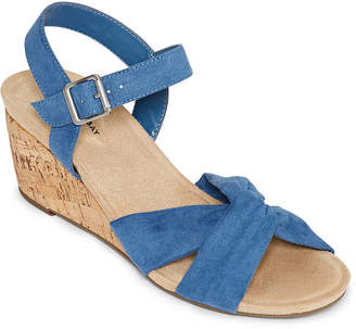 a49fd8fd92f6 ST. JOHN S BAY Womens Pasadena Wedge Sandals