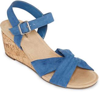 658e85c801d9 ST. JOHN S BAY Womens Pasadena Wedge Sandals