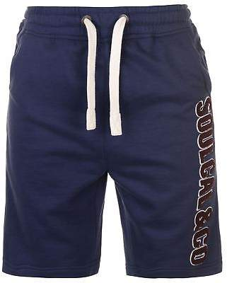 Soul Cal SoulCal Mens Cal LL Flc Shrt Fleece Shorts Pants Trousers Bottoms