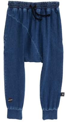 Nununu Diagonal Baggy Denim Pants