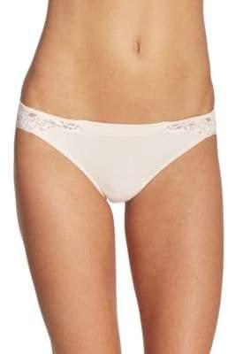 La Perla Souple Leavers Lace Thong