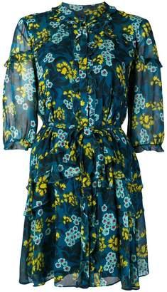 Saloni floral short dress