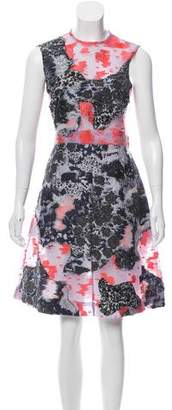 Michael Van Der Ham Sleeveless Knee-Length Dress