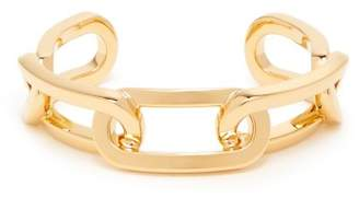Burberry Chain Link Cuff - Womens - Gold