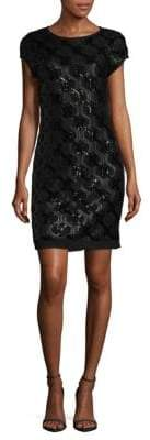 Vince Camuto Geometric Sheath Dress