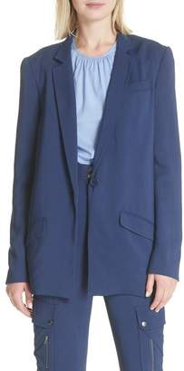 Tracy Reese Boxy Suit Jacket