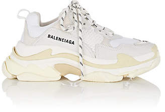 Balenciaga Women's Triple S Sneakers - White