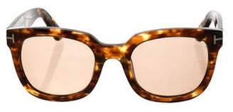 Tom Ford Campbell Tortoiseshell Sunglasses