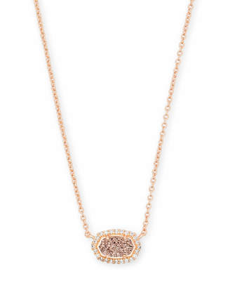 Kendra Scott Chelsea Pendant Necklace in Rose Gold