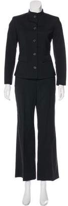 Burberry Wool High-Rise Pantsuit