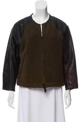 Isabel Marant Wool Leather Jacket