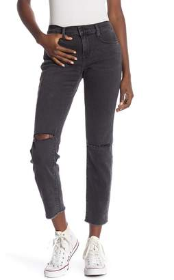 Frame Le Garcon Ripped Skinny Jeans
