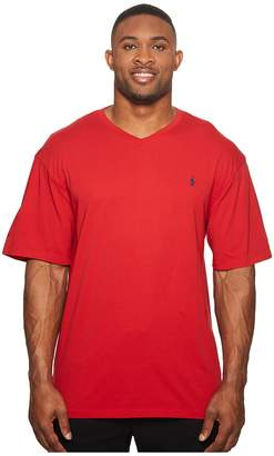 Polo Ralph Lauren Big and Tall Classic V-Neck T-Shirt Men's T Shirt