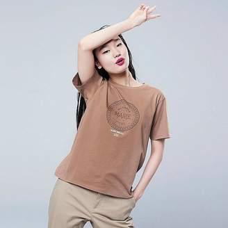 Uniqlo Women's The Brands Okashi Short-sleeve Graphic T-Shirt (morinaga)