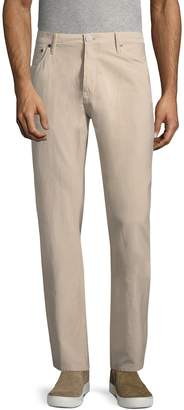 Burberry Men's High-Rise Cotton Trouser