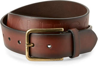 Nautica Antique Brown Belt