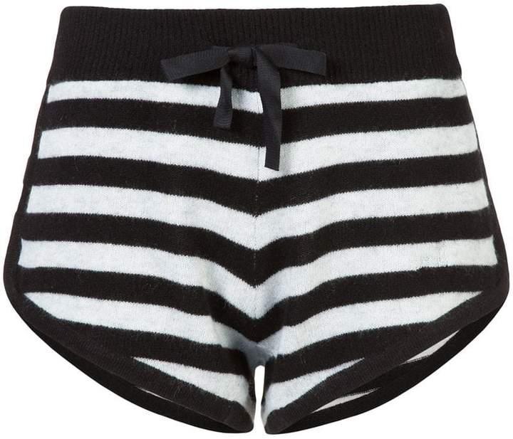 Morgan Lane Gestreifte 'Steffy' Shorts