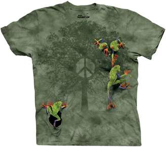The Mountain 100% Cotton Peace Tree Frog T-Shirt