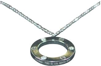 Cartier Love Silver White gold Necklace