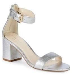 Cole Haan Clarette II Metallic Ankle Strap Sandals